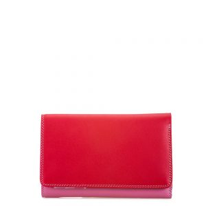 Mywalit Medium Tri-Fold Wallet Portemonnee Ruby