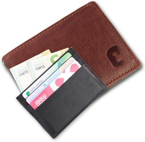 Safekeepers RFID Anti Skim Protection Billfold - Heren - Leer - Bruin