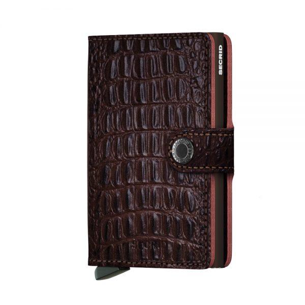 Secrid Mini Wallet Portemonnee Nile Brown