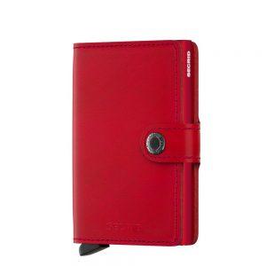 Secrid Mini Wallet Portemonnee Original Red/Red