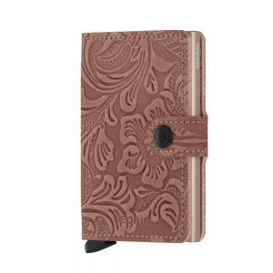 Secrid Mini Wallet Portemonnee Ornament Rose
