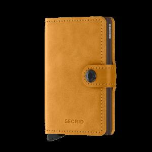 Secrid Mini Wallet Portemonnee Vintage Ochre