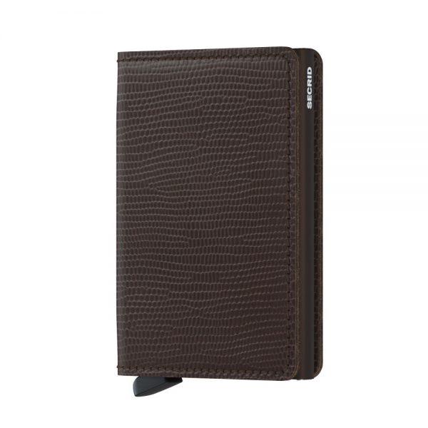 Secrid Slim Wallet Portemonnee Rango Brown