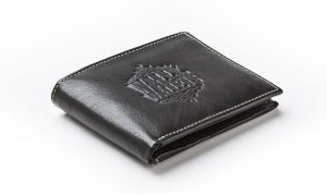 Wally Wallets Dallas Dollar Stash Heren Portemonnee Zwart