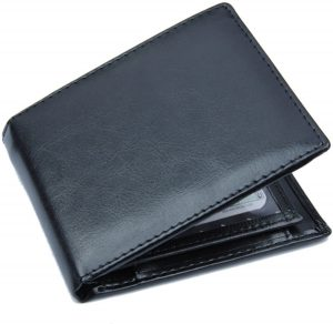 Zwarte Portemonnee - Portefeuille - Heren Billfold