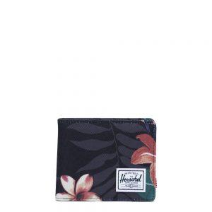 Herschel Roy Coin RFID Portemonnee Summer Floral Black