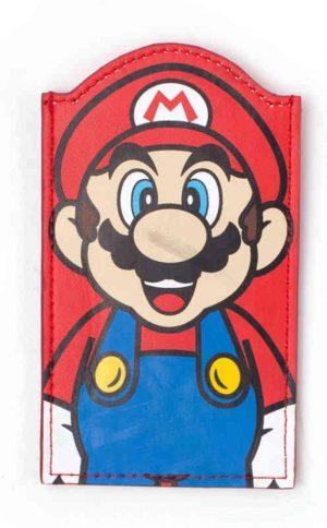 Super Mario - Mario Shaped Card Wallet