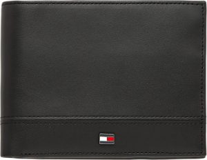 Tommy Hilfiger - TH essential - extra cc and coin - portemonnee heren - black