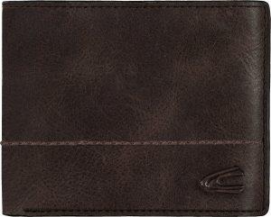 Camel Active - Hanoi - RFID jeanswallet heren portemonnee - brown