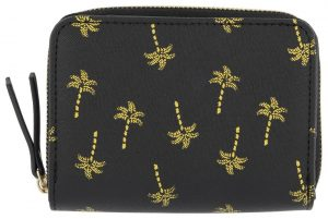 HEMA Portemonnee Flap - Palmboom Zwart/goud