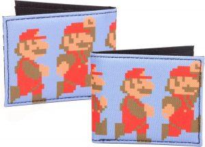 Nintendo - Rennende en Springenren Pixel Mario - portemonnee