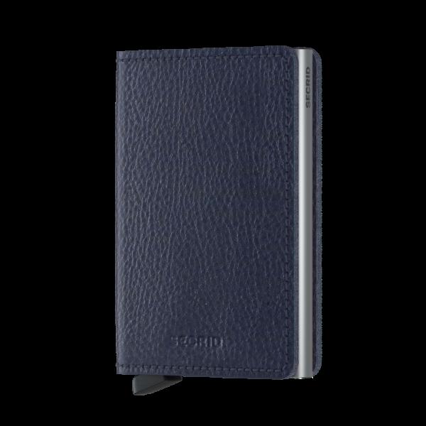 Secrid Slim Wallet Portemonnee Veg Navy / Silver