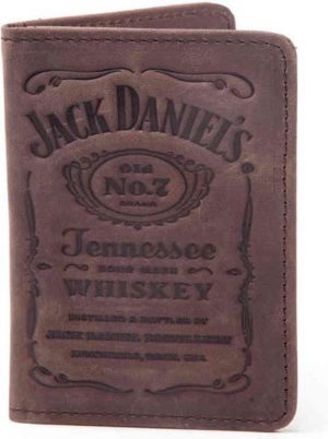 Jack Daniel s - Debossed Logo Men s Card Wallet