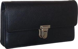 Leather Design Koopmans / Horeca Portemonnee met Muntenbak en Leren Tussenschoten