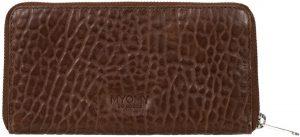 MYOMY-Portemonnees-My Paper Wallet Large-Bruin