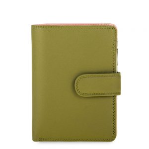 Mywalit Medium Snap Wallet Portemonnee Olive
