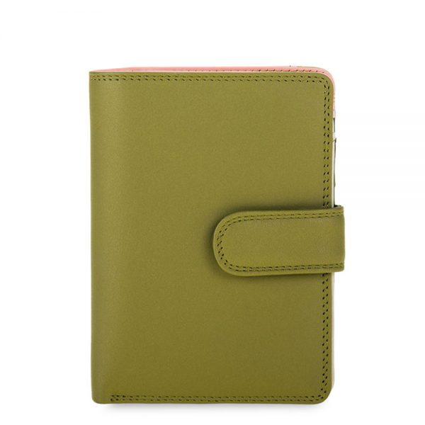 Mywalit Medium Snap Wallet Portemonnee Olive