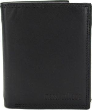 Portemonnee Heren Massi Milliano Full-leder (FLRS-13-NC-6) zwart -