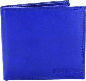Portemonnee Heren Massi Milliano leder (PHWX-309-5) - Royal-blauw