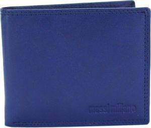 Portemonnee heren Massi Miliano leder (PHXW-350-9)- Navy-blauw -