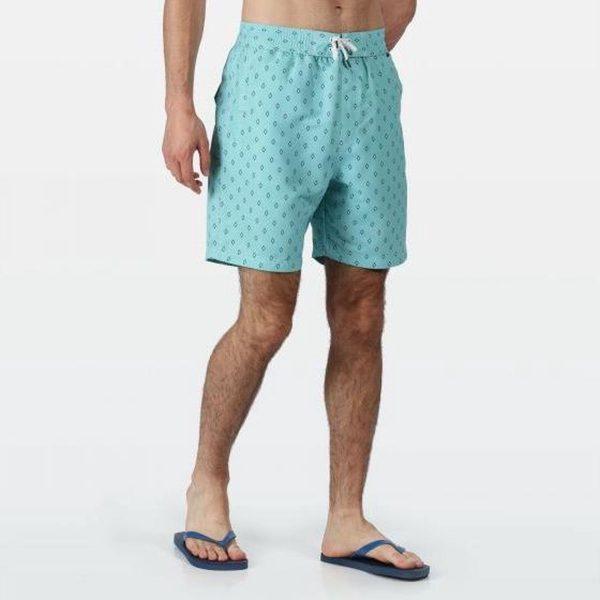 Regatta Zwembroek Hadden Ii Heren Polyester Blauw Maat Xl