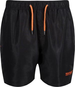 Regatta Zwembroek Mawson Ii Heren Polyester Zwart Maat 3xl