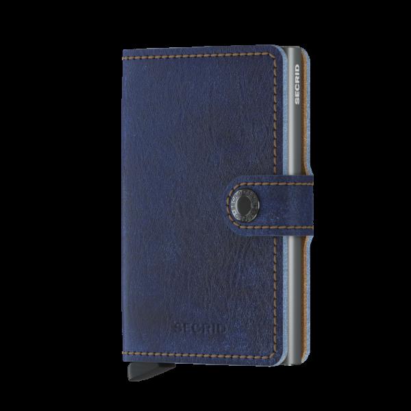 Secrid Mini Wallet Portemonnee Indigo 5 / Titanium