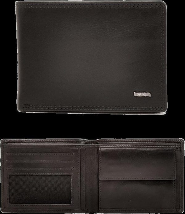 Berba Heren Portemonnee Soft 002-200 Black