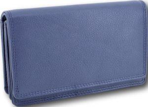 LeonDesign - 16-W1285-06 - portemonnee - donker Blauw - leer