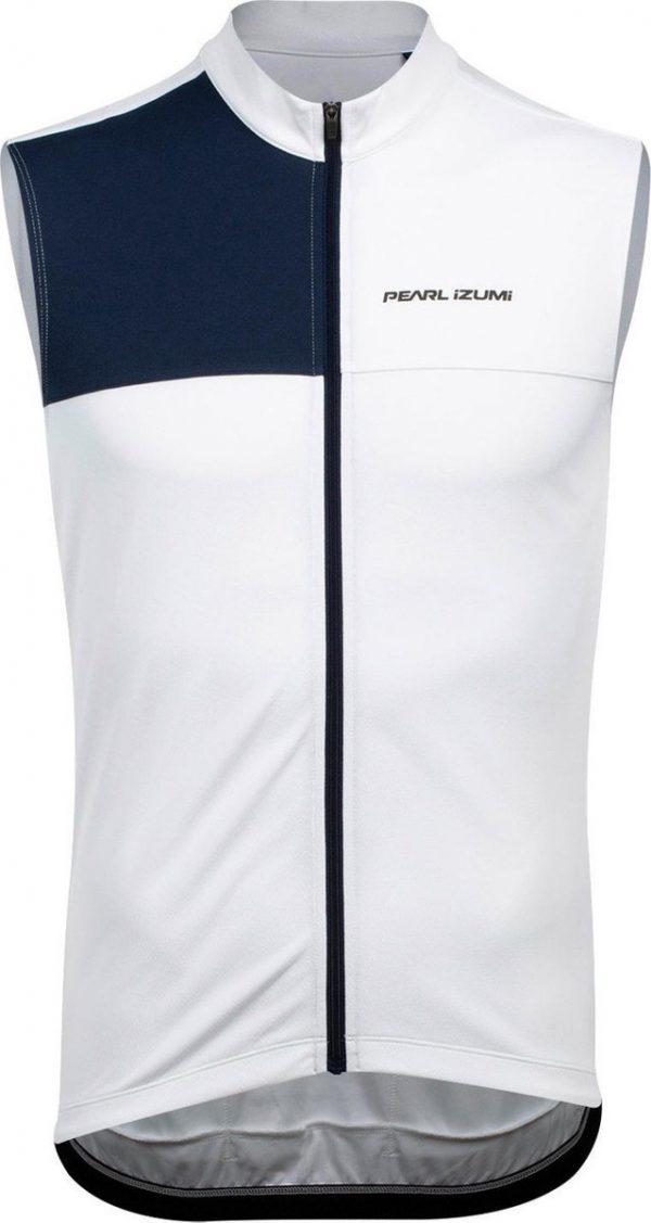 Pearl Izumi Fietsshirt Quest Sl Heren Polyester Wit/blauw Maat Xxl