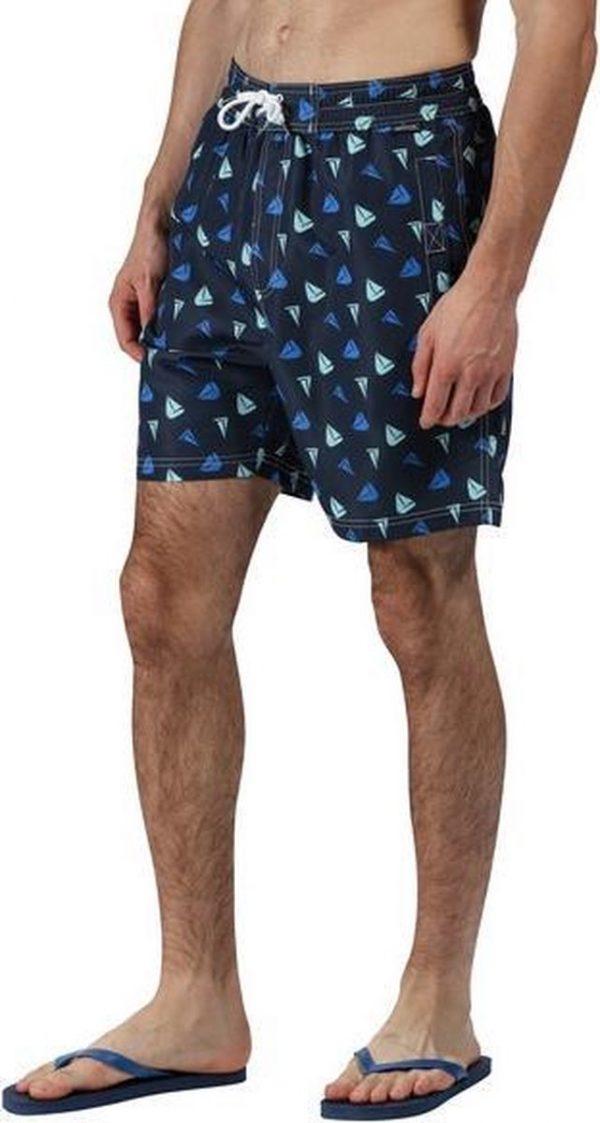 Regatta Zwembroek Hadden Ii Heren Polyester Donkerblauw Maat 3xl
