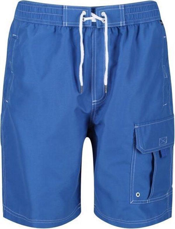 Regatta Zwembroek Hotham Iii Heren Polyester Blauw Maat M