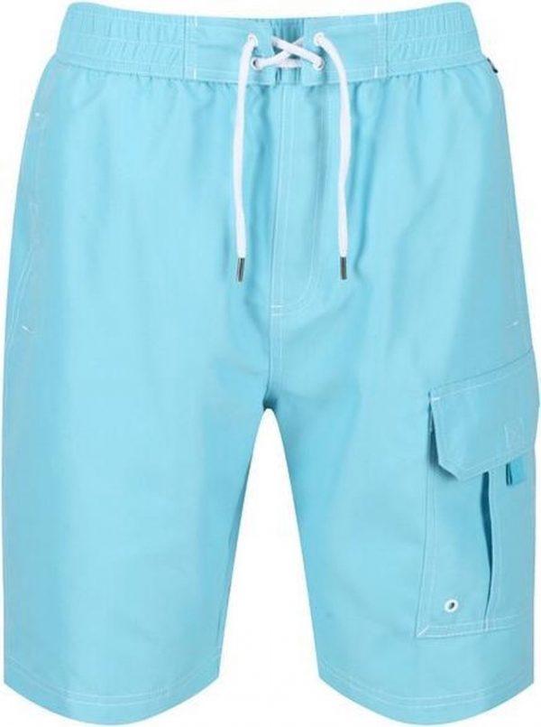 Regatta Zwembroek Hotham Iii Heren Polyester Lichtblauw Maat L
